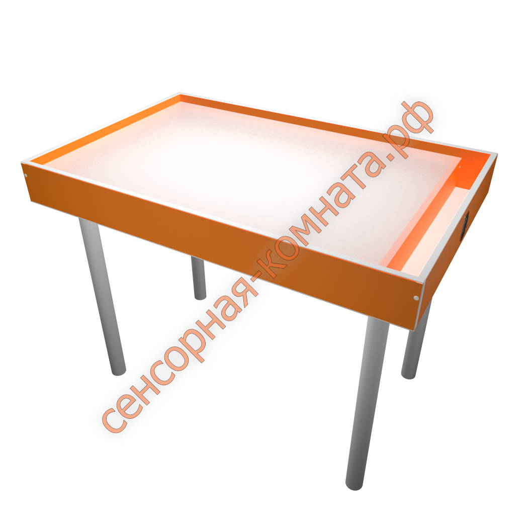 Рисование песком - как сделать стол